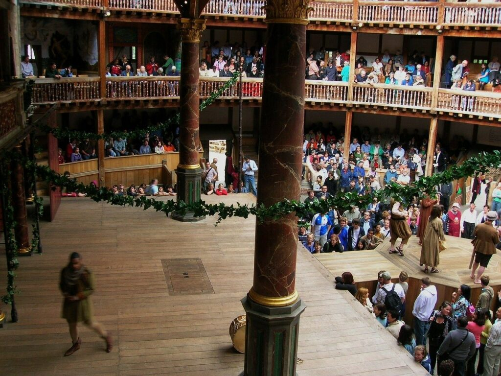 The Globe Theatre Stage, Tours of the UK