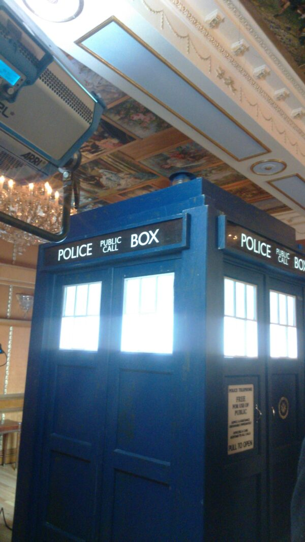 Doctor Who Tour of London, Tours of the UK, TARDIS